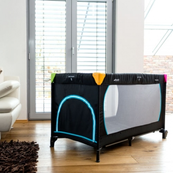 Манеж-кроватка hauck Sleep'n Play Go Plus, Multi Black
