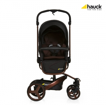 Коляска 2 в 1 hauck Twister DuoSet SnD, Chocolate