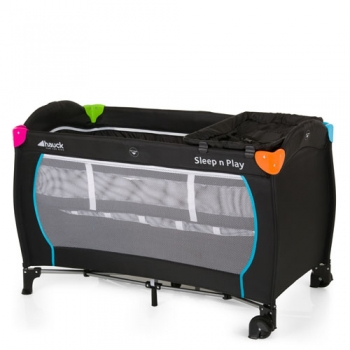 Манеж-кроватка hauck Sleep n Play Center, Multicolor Black