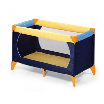 Манеж hauck Dream'n Play yellow blue navy