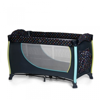 Манеж-кроватка hauck Sleep n Play Center 2, Multi-Dots-Navy