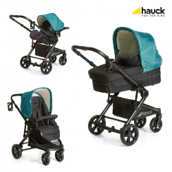 Коляска 3 в 1 hauck Atlantic Plus Trio Set, Everglade