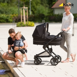 Коляска 3 в 1 hauck Atlantic Plus Trio Set, Caviar